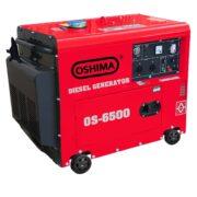 Máy Phát Điện Chạy Dầu 5.5KVA OSHIMA 6500
