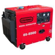 Máy Phát Điện Chạy Dầu 7KVA OSHIMA 8500