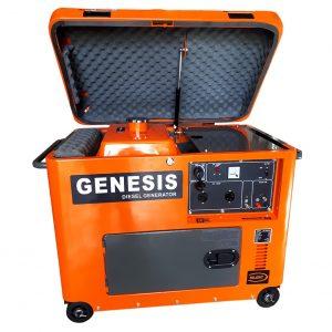 Máy Phát Điện Chạy Dầu 6KW Genesis GD7800