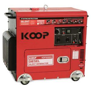 Máy Phát Điện Chạy Dầu Chống Ồn 5.0KW Koop KDF7500Q