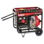 Máy Phát Điện Chạy Dầu 5.0KW Koop KDF7500XE
