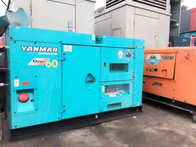 Máy phát điện Yanmar 60KVA cũ