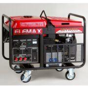Máy Phát Điện Chạy Xăng 12KVA Elemax SHT15000 3 Pha