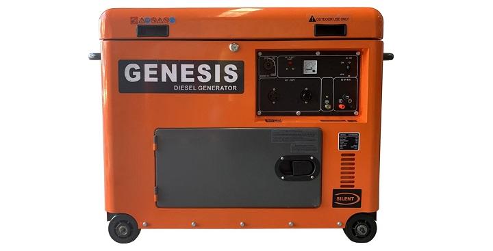 Máy phát điện chạy dầu chống ồn 5KW Genesis GD6800