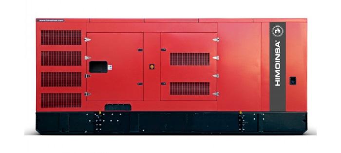 Máy phát điện công nghiệp Himoinsa có tủ chống ồn