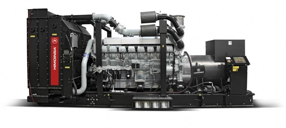Máy phát điện công nghiệp Himoinsa loại máy trần