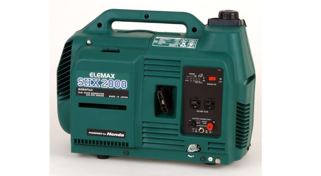 Máy phát điện mini chạy xăng Elemax 1.5KVA SHX2000