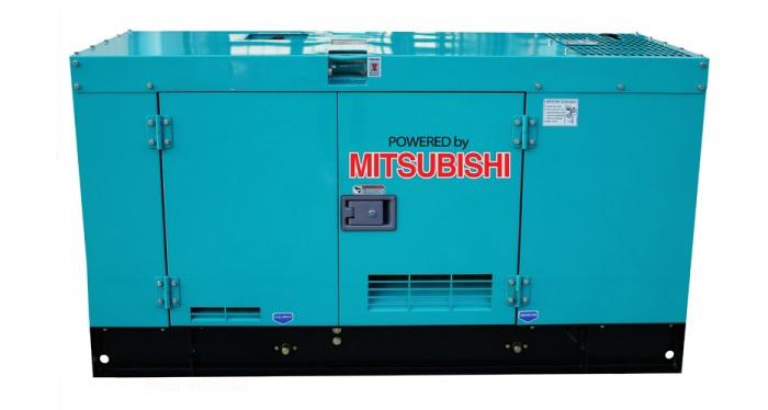 Máy phát điện công nghiệp Mitsubishi chống ồn