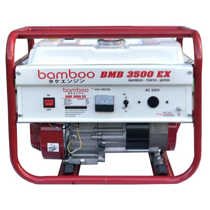 máy phát điện bamboo 3kw bmb 3500ex