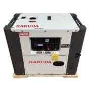 máy phát điện chạy dầu 5kw hakuda