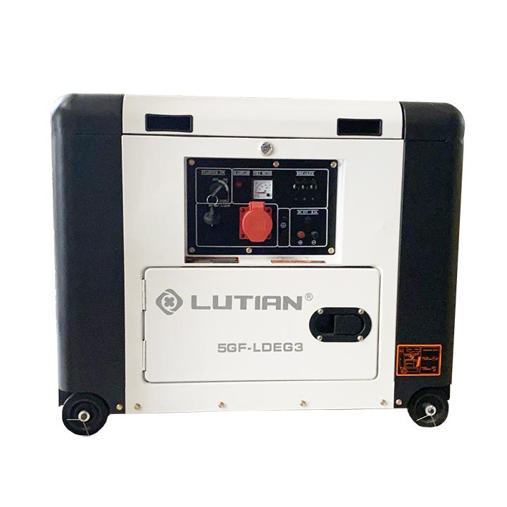 Máy Phát Điện Chạy Dầu 5Kw Lutian LTD6900LDEG3 3 Pha